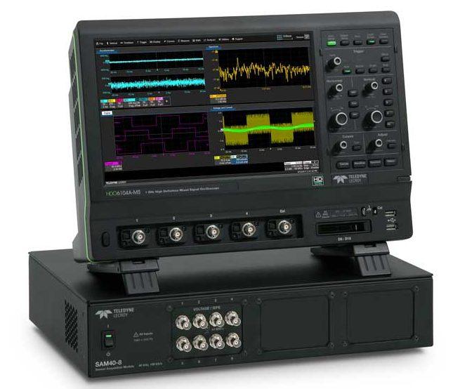Компания Teledyne LeCroy представила многоканальный модуль сбора данных с различного типа датчиков SAM4
