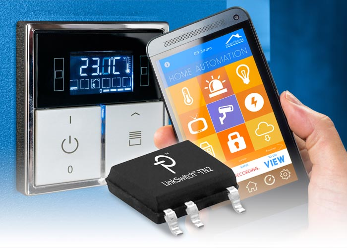 Power Integrations Enables No-Neutral Wireless Wall Switches for Smart-Home Lighting