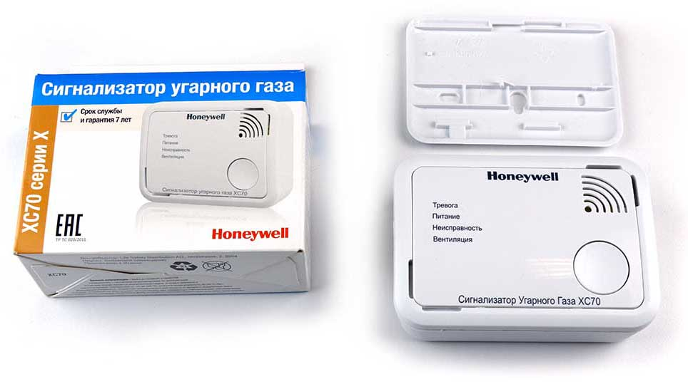 Сигнализатор угарного газа FB0103 Honeywell XC70