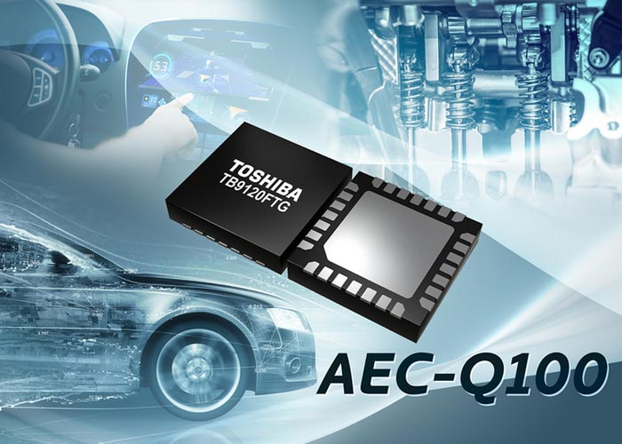 Toshiba starts sample shipment of automotive stepping motor driver