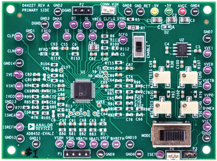 Universal Evaluation Board for the AD8452