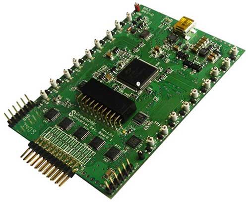 Внешний вид GreenPAK 5 Development Kit