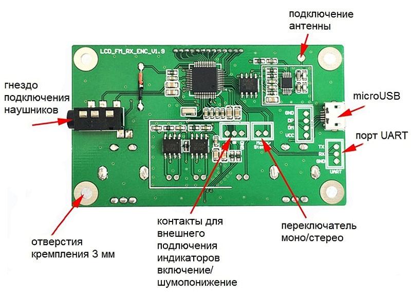 MP3510 - FM-тюнер с DSP и PLL