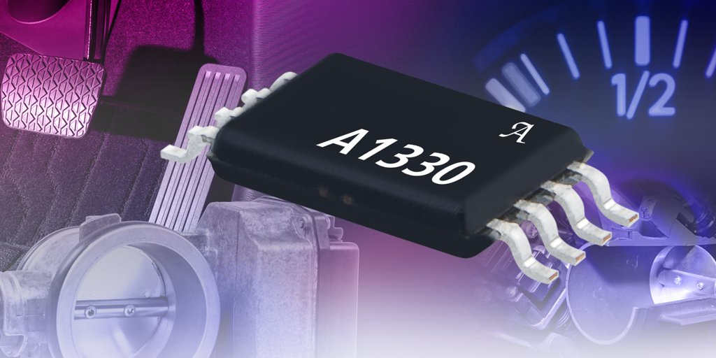 Allegro MicroSystems, LLC Introduces New 0° To 360° Angle Sensor ICs