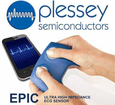 «Быстрое» ЭКГ с интегральными датчиками EPIC от Plessey