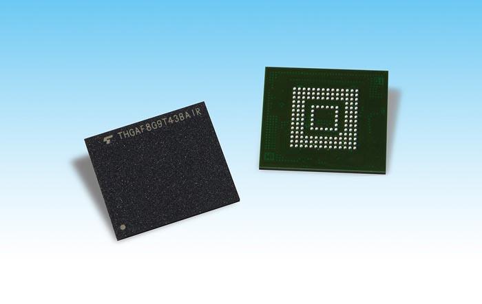 Toshiba Memory Europe представляет UFS-устройства на основе 64‑слойной 3D флеш-памяти