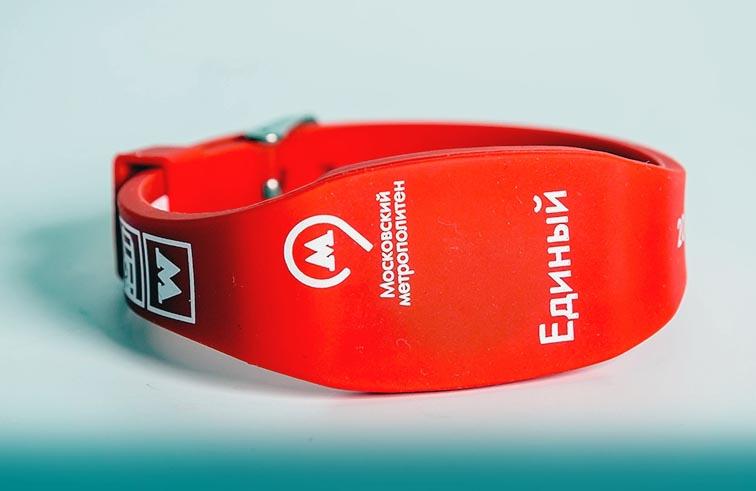 Транспортные браслеты Микрона поступили в продажу в Московском метро