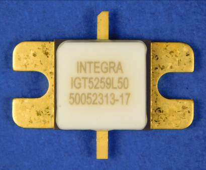 Fully-Matched High-Power GaN/SiC Transistor Offers 50W at 5-6 GHz