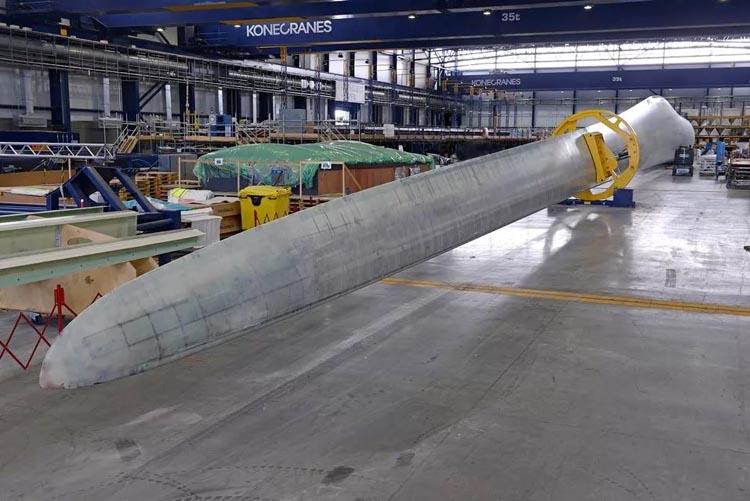 Vestas и РОСНАНО локализуют производство лопастей ВЭУ в рамках СПИК