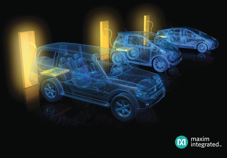 Усовершенствованная система управления аккумуляторными батареями компании Maxim сделает автомобиль будущего более безопасным и умным