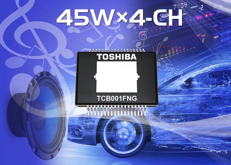 Toshiba adds power amplifier IC adopting pure MOS for car audio