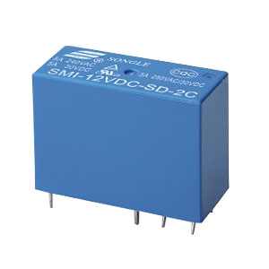 Datasheet Songle Relay SMI-36VDC-SD-2C
