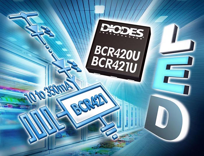Constant-Current LED Drivers now Offered in Low-Profile DFN Package Suitable for Edge Lighting