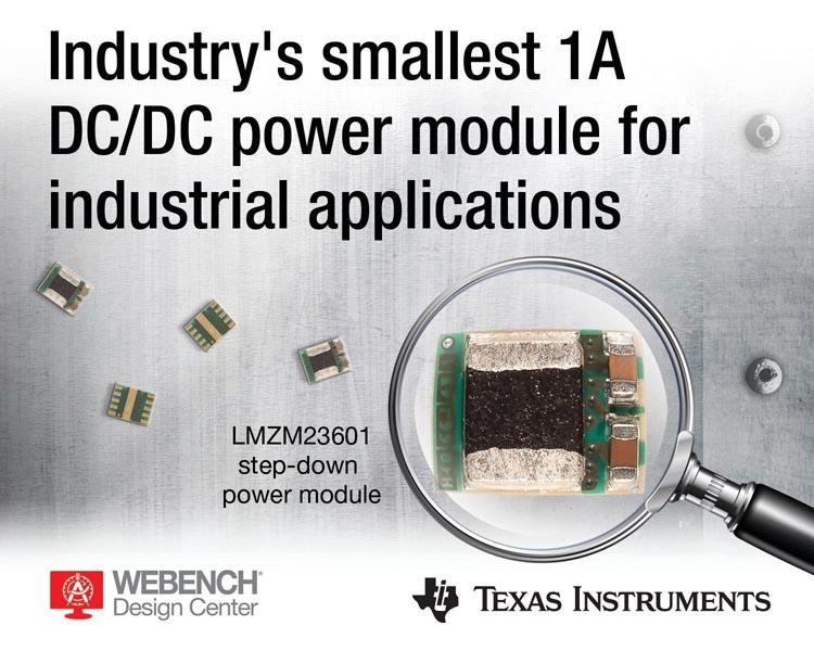 Texas Instruments - LMZM23600, LMZM23601