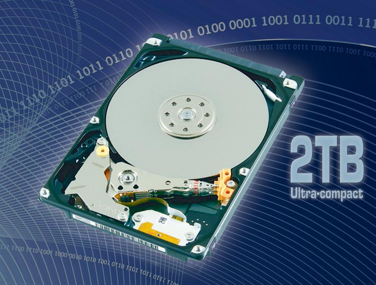 Toshiba Announces New 2TB Hard Disk Drive for Client Storage Applications