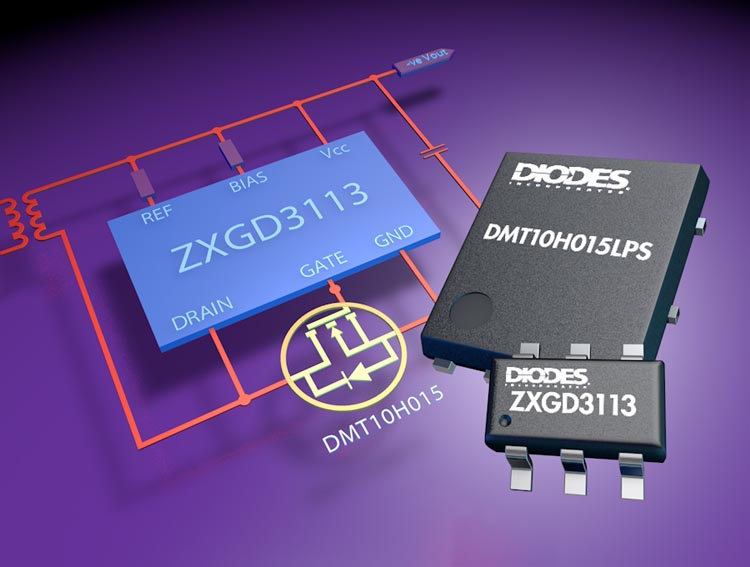 Diodes Incorporated's Synchronous Rectifier Controller Delivers Higher Efficiency and Saves Board Space