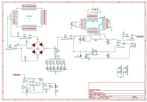 Принципиальная схема DC Power Cell MPC-00010-00