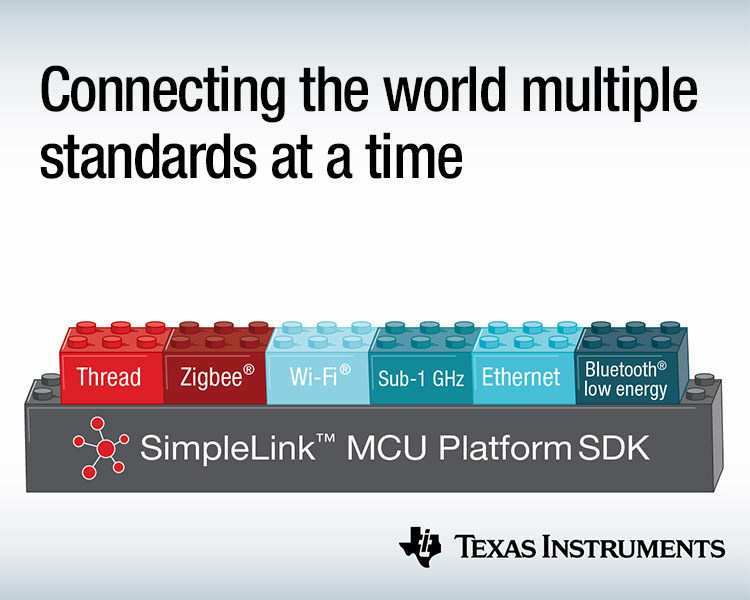 Lowest-power multi-standard multi-band MCUs connect building