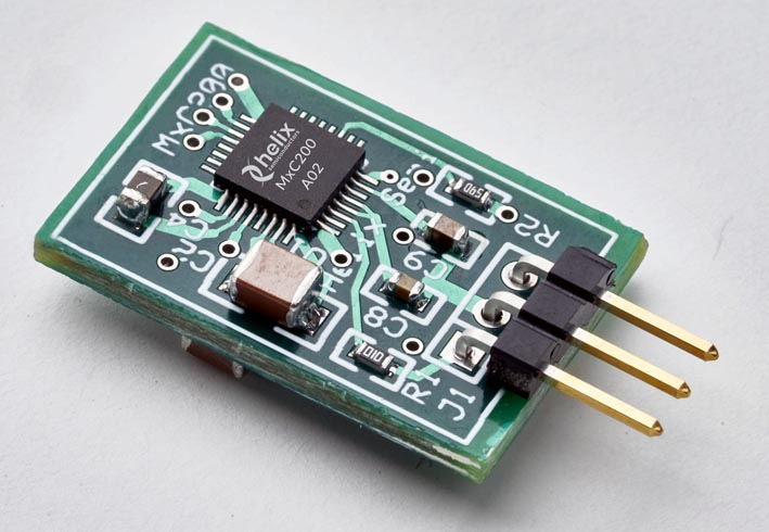 Helix Semiconductors' MxC200 DC-DC Power IC Now in Production