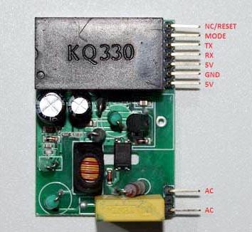 Организация обмена данными по линиям бытовой электросети с использованием микросхем GreenPAK