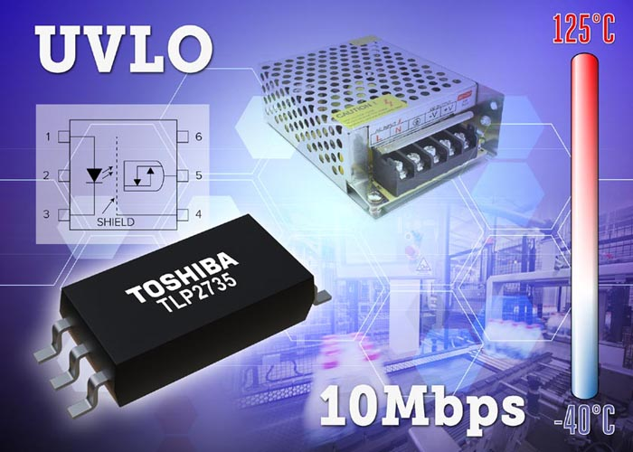 Toshiba Launches Photocoupler with UVLO Function for Digitally Controlled Switching Power Supplies and IPM Drives