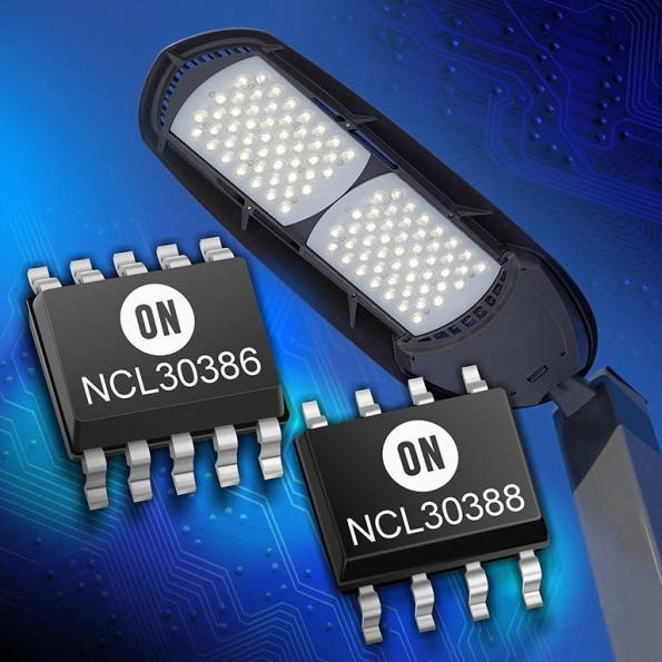New High Efficiency Controller Solutions for LED Lighting Applications from ON Semiconductor