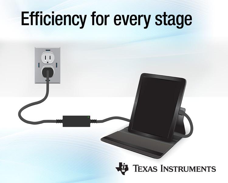 Новый чипсет Texas Instruments удвоит скорость зарядки аккумуляторов