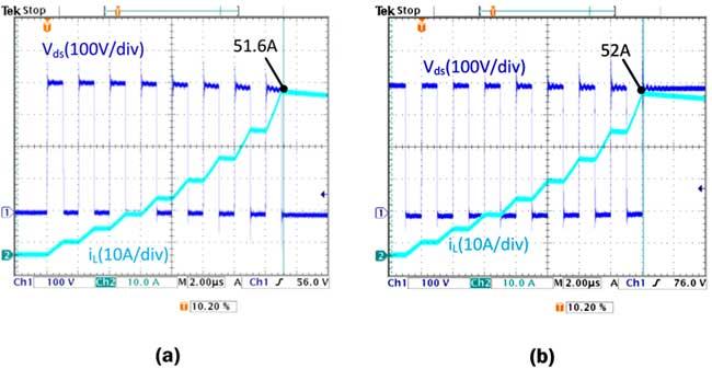 Тестирование схемы с параллельными GaN-транзисторами TO-220
