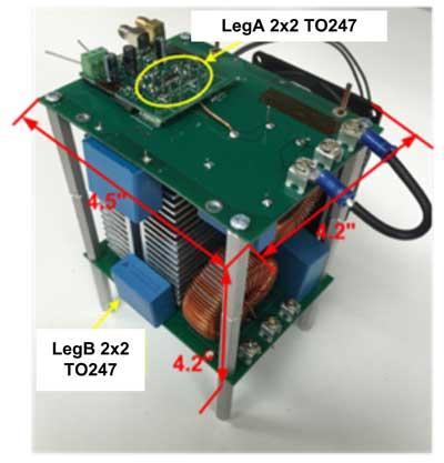 Полумост на двух параллельных транзисторах TO-247