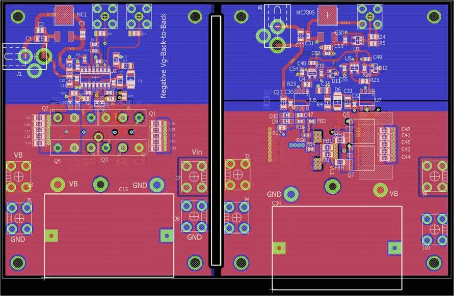 Использование ферритовых фильтров и помехоподавляющих RC-цепочек при параллельном включении GaN-транзисторов в мощных преобразователях