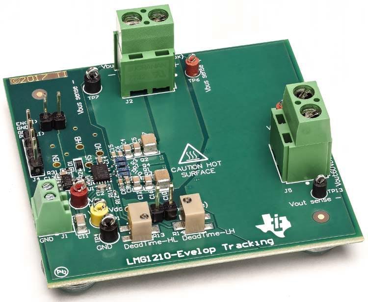 Многомегагерцовый силовой каскад для быстродействующих DC/DC преобразователей на основе LMG1210