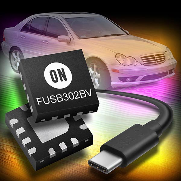 ON Semiconductor Announces New Set of Low Power, Fully Compliant USB-C 1.3 Devices