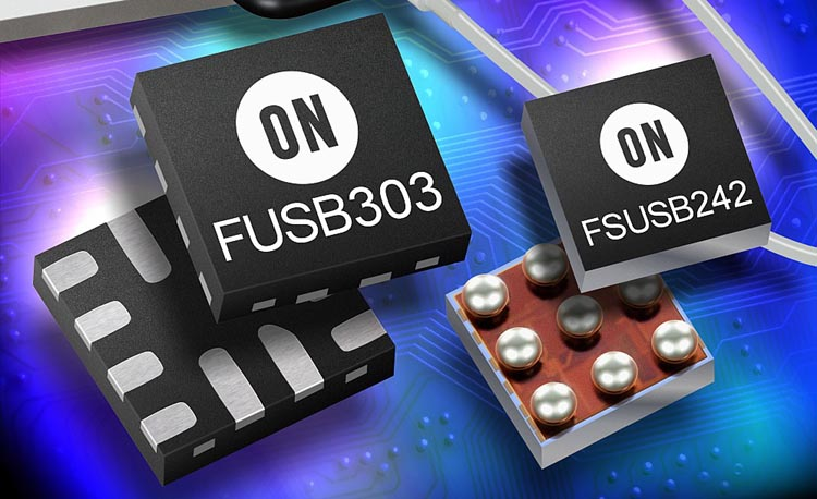 ON Semiconductor - FUSB303, FSUS242