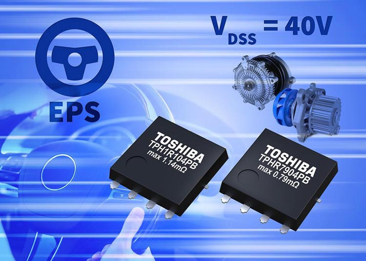 Toshiba releases automotive 40V N-Channel power MOSFETs in 5mm x 6mm package