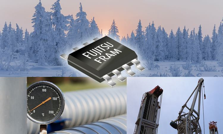 Fujitsu has launched a 64-Kbit FRAM Guaranteed to Operate as low as -55 °C
