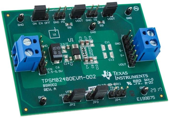 Оценочный модуль TPSM82480EVM-002