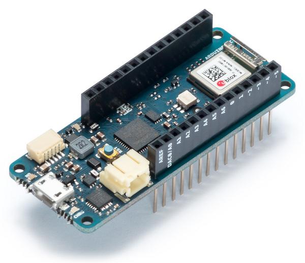 Arduino анонсировала новые платы семейства MKR для приложений Интернета вещей