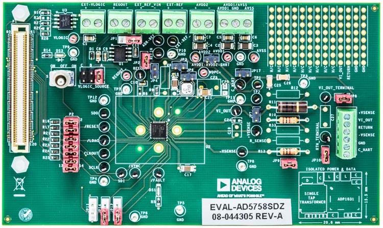 Evaluation Board EVAL-AD5758
