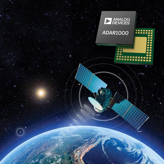 Analog Devices' Plug-and-Play Antenna Chip Simplifies Phased Array Radar for Avionics and Communications Equipment Designers
