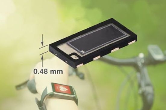 Vishay Intertechnology High Speed PIN Photodiode Offers Enhanced Sensitivity for Visible Light, Enables Slim Sensor Designs for Wearables