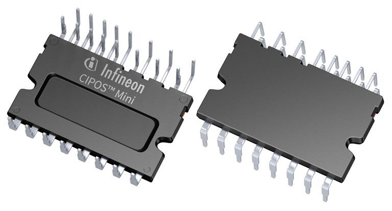Infineon's CIPOS Mini IPMs deliver higher efficiency in low power motor drives