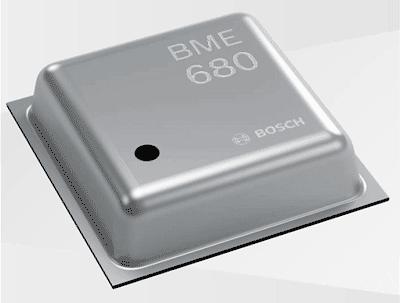 BME680 - новый датчик параметров среды от Bosch