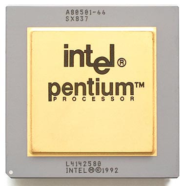 1st Intel Pentium processor is shipped, March 22, 1993