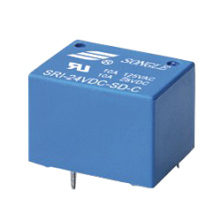 Datasheet Songle Relay SRI-09VDC-SD-C