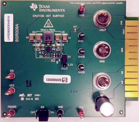 Оценочный модуль LMR33630ARNXEVM