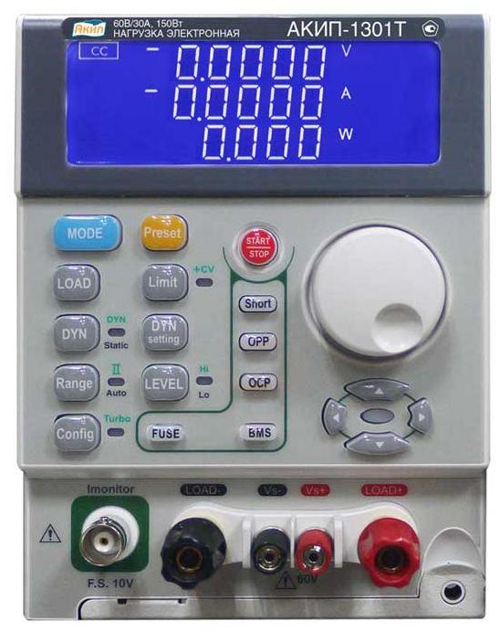 Компания АКИП выпустила новую линейку электронных нагрузок с максимальной мощностью до 900 Вт