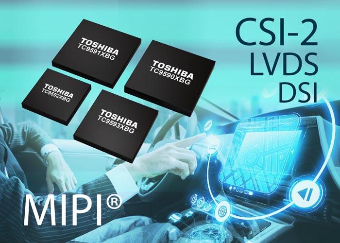 Toshiba выпускает линейку интерфейсных мостов для автомобильных информационно-развлекательных систем