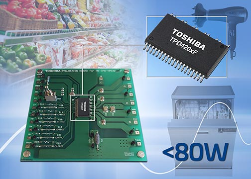 Toshiba announce new evaluation board for three-phase BLDC motor drive ICs
