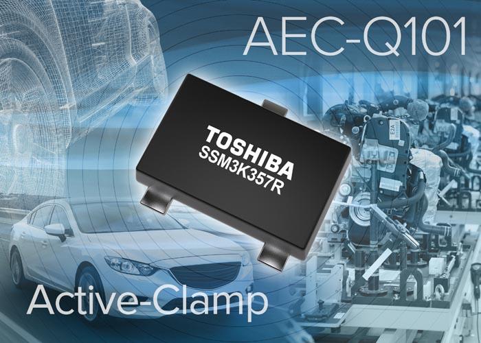 Toshiba приступает к поставкам новых MOSFET с цепями активного ограничения