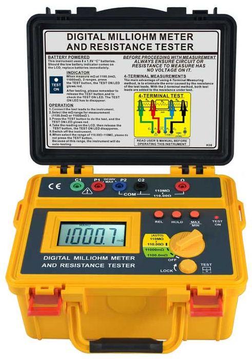 Компания SEW представляет цифровой портативный миллиомметр для измерения низкоомных цепей и сопротивлений на постоянном токе